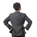 Zurück von der Geschäftsfrau Lizenzfreie Stockbilder