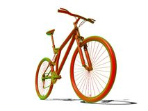 Zure fiets royalty-vrije illustratie