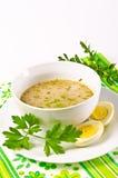 Zurek is a Polish soup Royalty Free Stock Images
