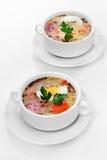 Zurek polonês, sopa de easter Imagem de Stock