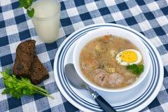Zurek soup Stock Image