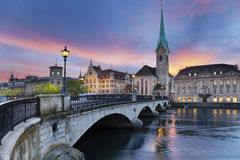 Zurich. Imagen de archivo libre de regalías