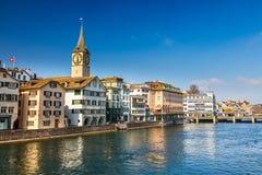 Zurich Royaltyfria Foton