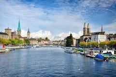 Zurich royaltyfri fotografi