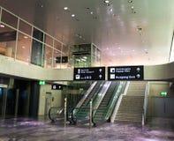Zurich Airport November 28 Stock Image