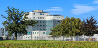 Zurich Airport Prison Stock Images