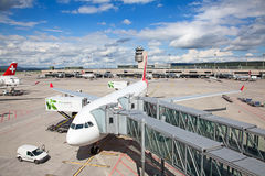 Zurich airport Stock Photo