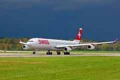 Zurich Airport Royalty Free Stock Image