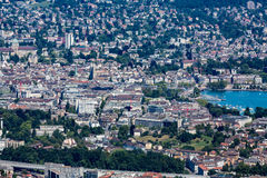 Zurich and the bay area, Switzerland Royalty Free Stock Photos