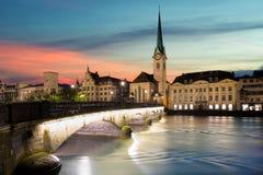 zurich Bild av Zurich, huvudstad av Schweiz Royaltyfria Bilder