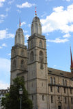 Zurich Church Stock Photography