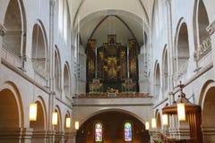 Zurich Church. Inside of the Church in Zurich,Switzerland Royalty Free Stock Photography