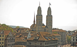 Zurich city Royalty Free Stock Photography