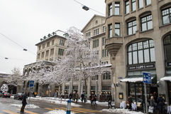 Zurich city center Stock Photography