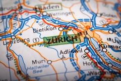 Zurich City Stock Photo