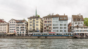 Zurich City in the Switzerland Stock Photography