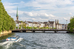 Zurich City in the Switzerland Stock Images