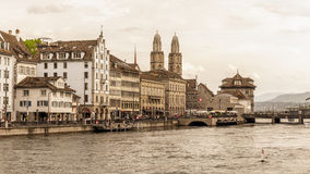 Zurich City in the Switzerland Stock Photos
