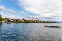Zurich City in the Switzerland Royalty Free Stock Images