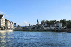 Zurich city view Stock Photo