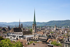 Zurich cityscape Royalty Free Stock Photo