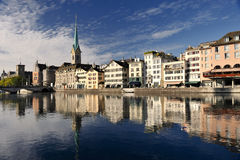Zurich cityscape Royalty Free Stock Images