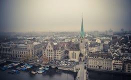 Zurich cityscape Stock Photo