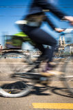 Zurich cityscape with  city traffic Stock Image