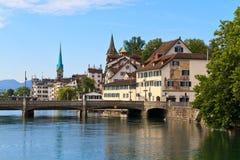 Zurich Schweitz Arkivbilder