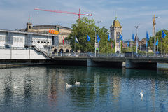 Zurich cityscape Royalty Free Stock Image
