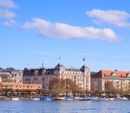 Zurich cityscape. Zurich, Switzerland - autumn cityscape, lake Royalty Free Stock Image