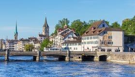Zurich cityscape Stock Photos