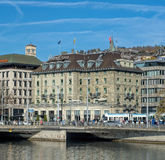 Zurich cityscape Stock Photos