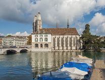 Zurich cityscape Stock Photography