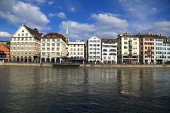 Zurich cityscape, Switzerland . Stock Photo