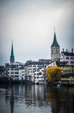 Zurich cityscape Stock Images
