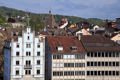 Free Zurich Cityscape With Old Buildings , Switzerland. Stock Photo - 38794700