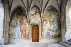 Zurich, Cloister Fraumuenster Stock Photography