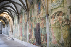Zurich, Cloister Fraumuenster Royalty Free Stock Photos