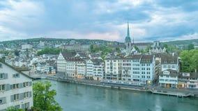 Zurich czasu upływ zbiory wideo