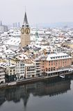 Zurich downtown Stock Images