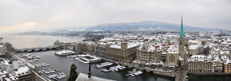 Zurich downtown Royalty Free Stock Images
