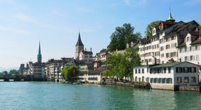 Zurich downtown Stock Photos
