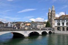 Zurich downtown Stock Image