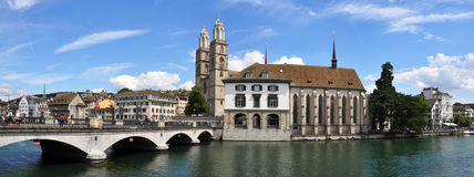 Zurich downtown Stock Image