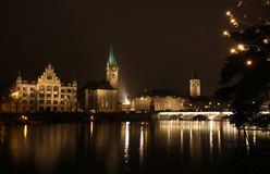 Zurich downtown, Switzerland Stock Photos