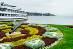 Zurich Flower Clock Royalty Free Stock Photos