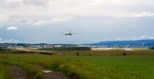 Zurich flygplats Arkivbilder