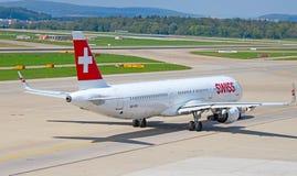 Zurich flygplats royaltyfri foto