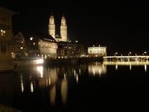 Zurich - Grossmunster Stock Photos